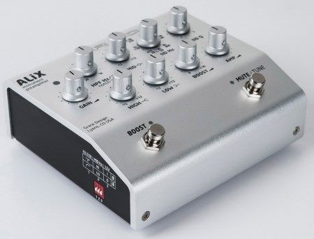 ALiX - One Channel Preamp, preamp top
