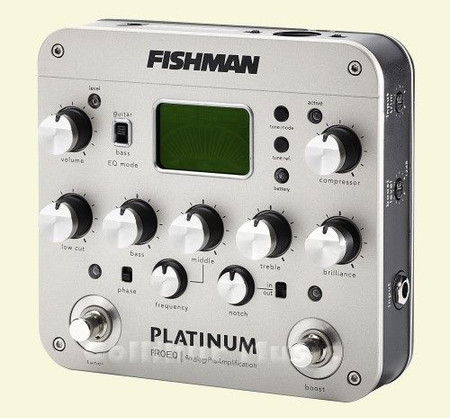 Platinum Pro-EQ Analog Preamplifier with Tuner, Boost