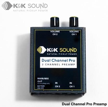 Dual Channel Pro Instrument Preamplifier