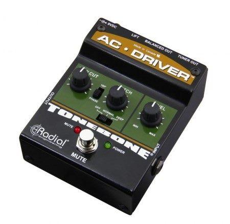 Tonebone AC Driver 1 Channel Preamplifier, preamp top