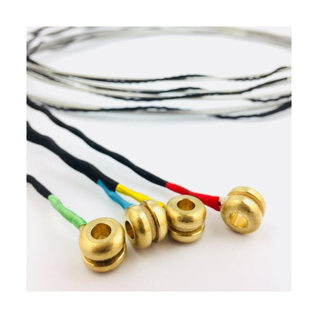 Polychrome Hybrid Medium Tension Strings, ball end