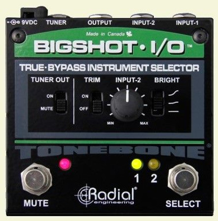 BigShot i/o Deluxe A/B Switch