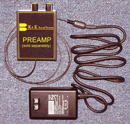 AC Adaptor for Compact K&K Preamps, full kit
