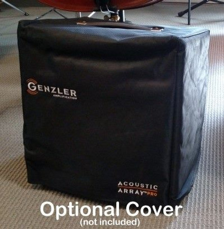 Gollihur Series Bass Acoustic Array Pro Amplification (Exclusive), combo with cover