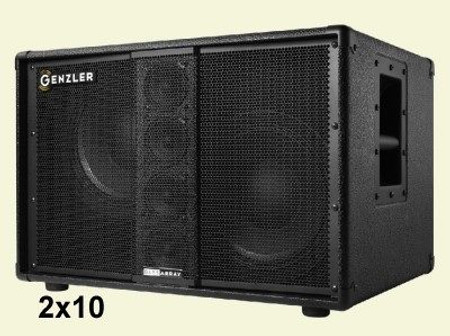 Bass Array Speaker Cabinets, 2x10