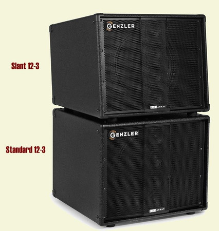 Bass Array Speaker Cabinets, 12-3 and 12-3 SLT