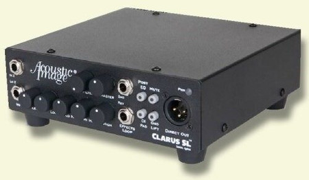 CLARUS SL and SL-R instrument amplifier, front