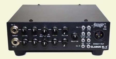 CLARUS SL-2 - 2-channel instrument amplifier, front