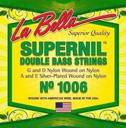 Supernil Upright Bass Strings, standard package