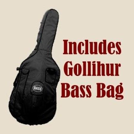 Estle Louis 'Ed' - Our Complete Rockabilly Bass PACKAGE, bass bag