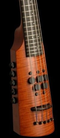 OMNI Bass by NS Design (CR Series) - Compact Electric Upright Bass, 4/5 string