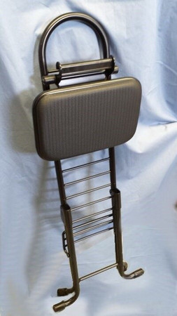 Professional Folding Performance Chair / Stool for Upright Bass, folded