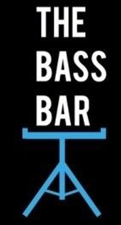 The Bass Bar - Compact 'Laydown Style' Double Bass Stand logo