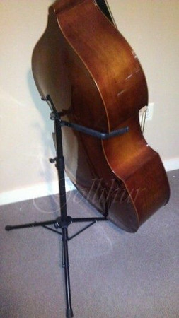 Portable Folding Stand for Double Bass (K-M model 141), with bass