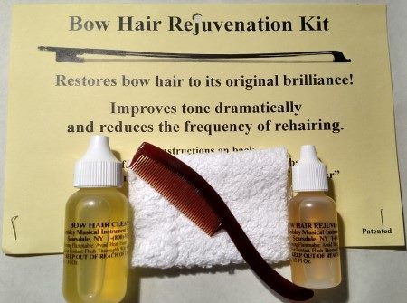Bow Hair Cleaning and Reconditioning Kit by Ardsley