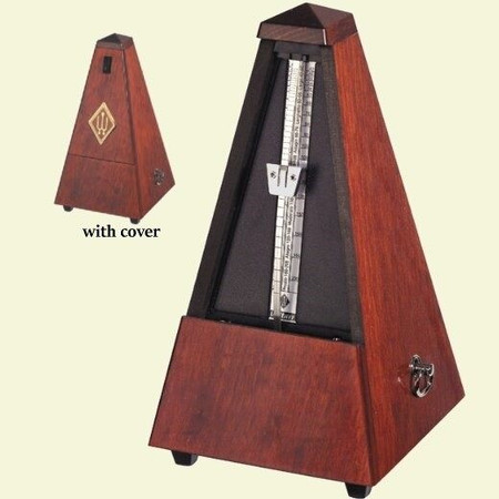 Deluxe Tabletop Metronome with Wood Case by Wittner