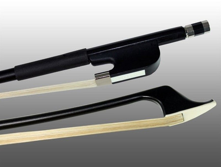 Glasser Double Bass Bow, French and German, tip and frog