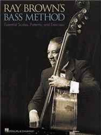 Ray Brown's Bass Method - Instructional Exercises Book, cover
