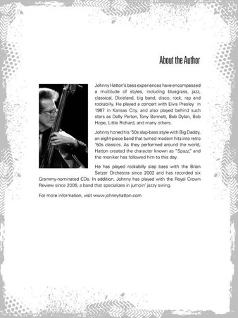 Rockabilly Bass - Slap Technique by Johnny Hatton, author page