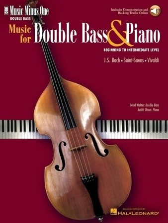 Beginning to Intermediate Bass Solos - Sheet Music with Piano Accompaniment Tracks, cover