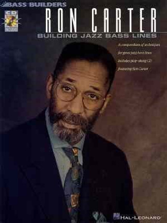 Ron Carter - Building Jazz Bass Lines - Book with Audio Tracks, cover