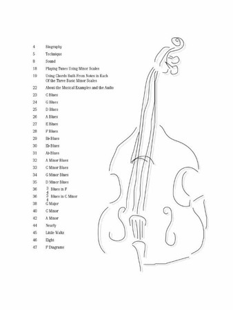 Ron Carter - Building Jazz Bass Lines - Book with Audio Tracks, example page