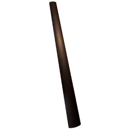 Deluxe Ebony Upright Bass Fingerboard, 3/4 size, full view