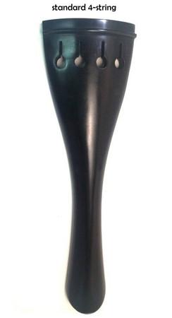 Ebony Upright Bass Tailpiece, 4-string tulip style