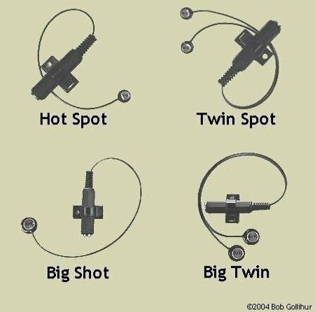 diagram of multiple K&K general purpose pickups