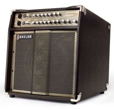 Acoustic Array Pro Combo Amp for Acoustic Instruments by Genzler Amplification, 3/4 view