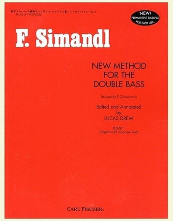 F. Simandl - New Method for the Double Bass, book cover