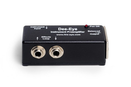 Dee-Eye Instrument Preamplifier/DI by Fire-Eye, high view