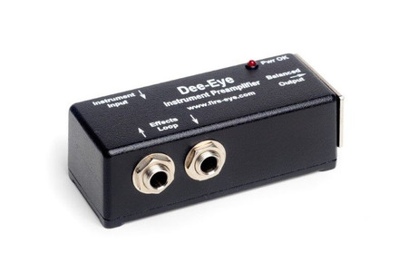 Dee-Eye Instrument Preamplifier/DI by Fire-Eye, 3/4 view