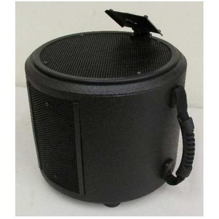 Acoustic Image Coda New Generation speaker with amp head bracket.