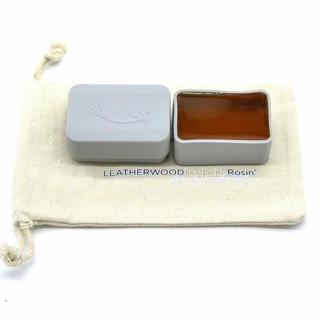 "Leatherwood ""Bespoke"" Amber Bass Rosin, product photo"