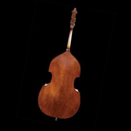 John Juzek Carved Double Bass, back