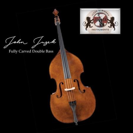 John Juzek Carved Double Bass, product photo
