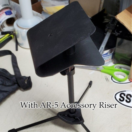 Nu-Era Tabletop Mic Stand with Bag and Mic Clip