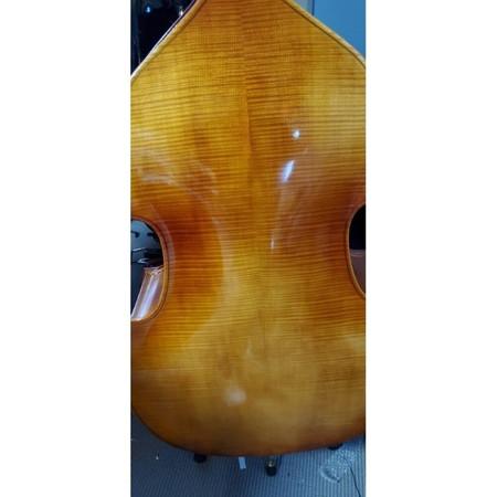 Estle Louis Hybrid Double Bass - Back