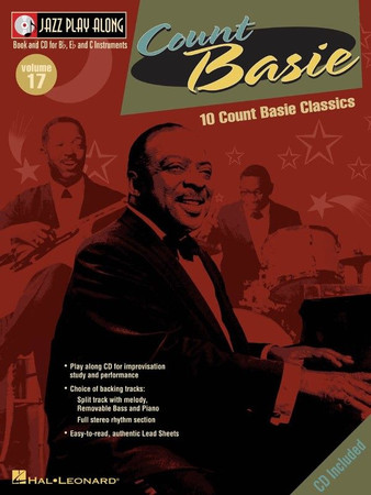 "Big Band Play-Along, ""Count Basie"" - Book with Play-Along Audio Tracks, cover"