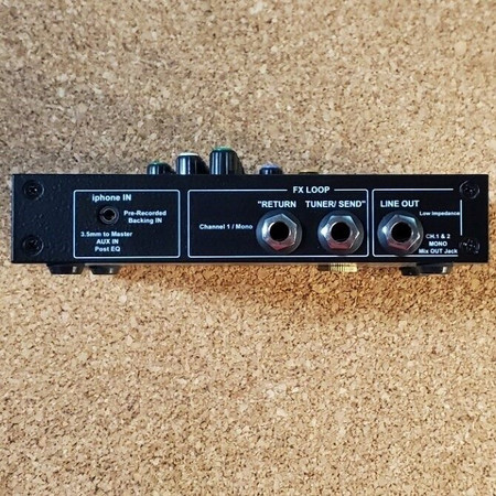 EDB 2 H.E. 2-channel Preamplifier by Headway, side