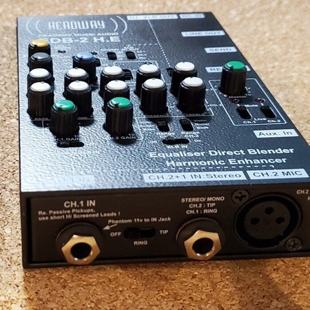 EDB 2 H.E. 2-channel Preamplifier by Headway, alt view