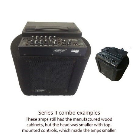 Padded Case for Acoustic Image Series II (Series 2) Combo Amp or EX Speaker Cabinet