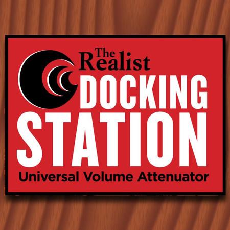 David Gage Realist Docking Station - logo from product box