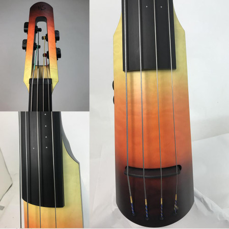 "Limited Edition ""Seasons"" NS Design NXTa Full Size Electric Upright Basses - Autumn multi-shot"