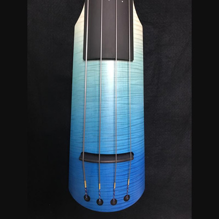 """Limited Edition """"Seasons"""" NS Design NXTa Full Size Electric Upright Basses - Summer closeup of body"""