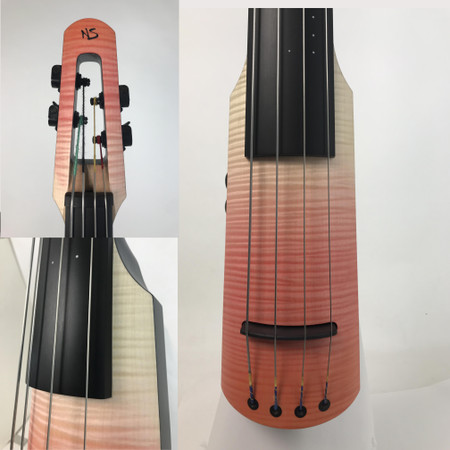 """Limited Edition """"Seasons"""" NS Design NXTa Full Size Electric Upright Basses Spring multi-shot"""