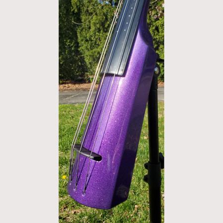 NS Design Custom Shop WAV4 Full Size Electric Upright Bass (Purple Sparkle)