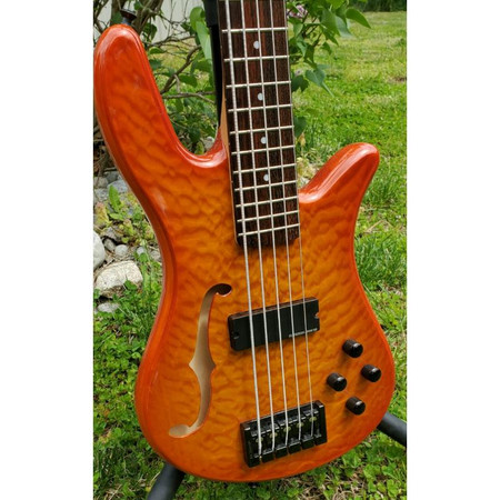 Spector SpectorCore 5 Electric Bass Guitar, front of body