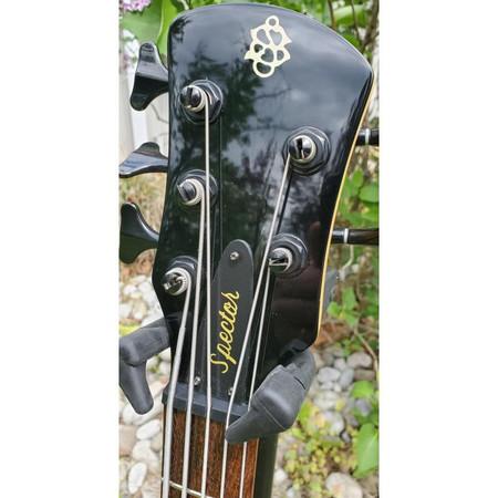 Spector SpectorCore 5 Electric Bass Guitar, headstock